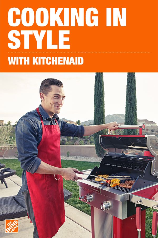 Kitchenaid 2 Burner Propane Gas Grill In Red In 2019