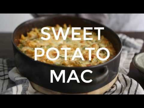 Sweet Potato Mac and Cheese with Spinach | Naturally Ella