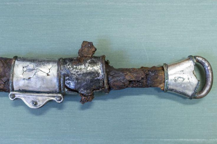 Avar sword near Szalkszentmárton, Hungary