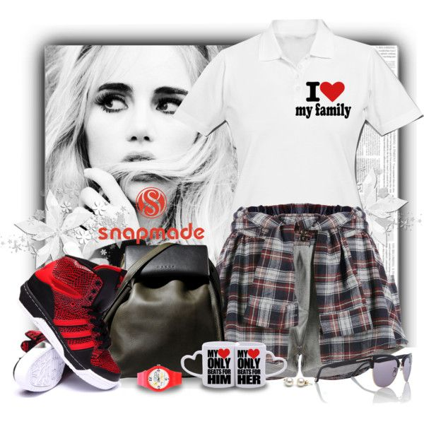 Snapmade by marcialaraia on Polyvore featuring moda, adidas, Marni and Tom Ford