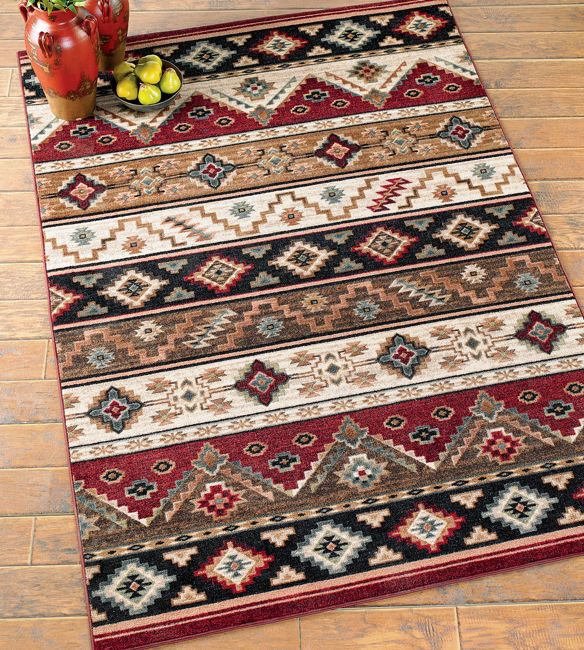 Stop By Lone Star Western Decor Now And Look At Our Fantastic Assortment Of Southwest Rugs For Example This Cottonwood Southwestern Rug