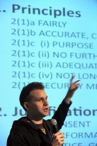 Max Schrems talks about Europe versus Facebook: our way or Mark's way?