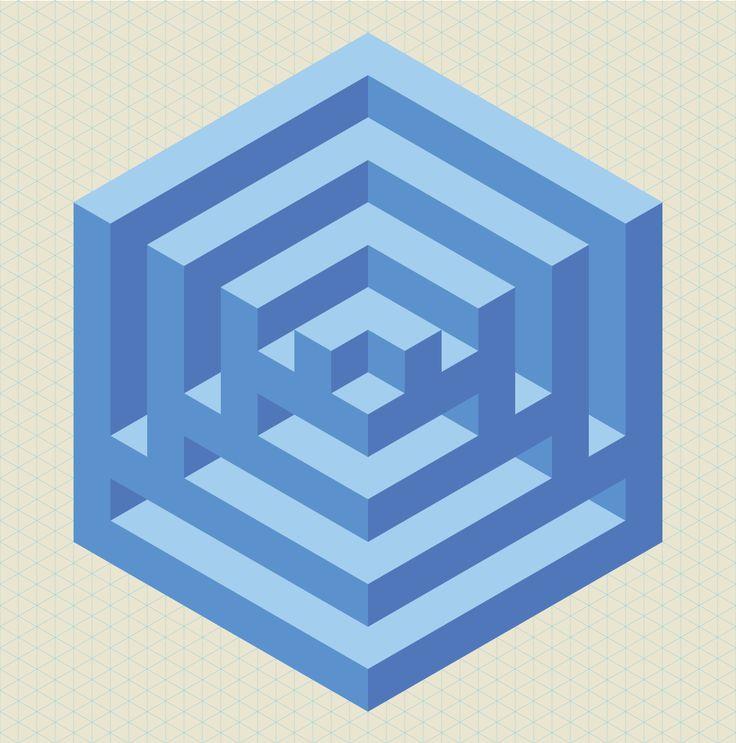 Isometric shape. Dennis Smit, 2014.