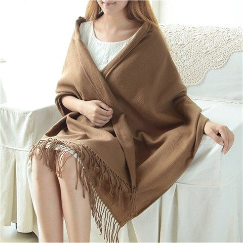 Woven Scarf -Brown