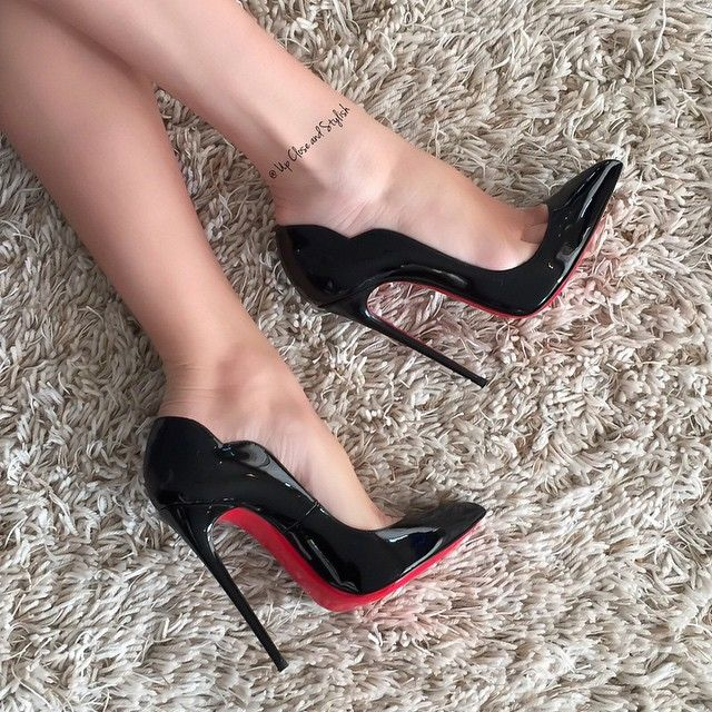 Up Close and Stylish @upcloseandstylish Instagram photos | Websta #Louboutin 'Hot Chick' 130mm. (8 November 2014)