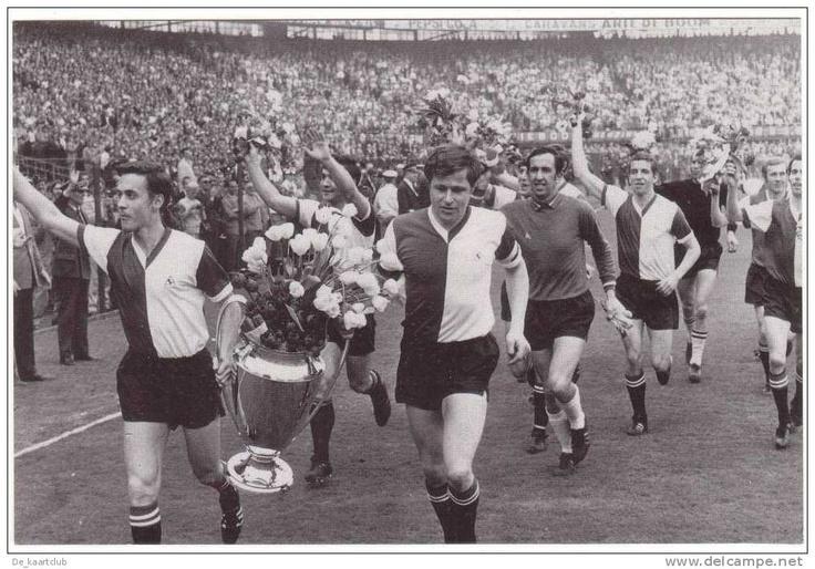 Feyenoord Europacup 1 winnaar 1970