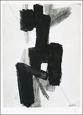 Pierre Soulages - Vintage 4 (Tirage Argentique D'époque), 1950