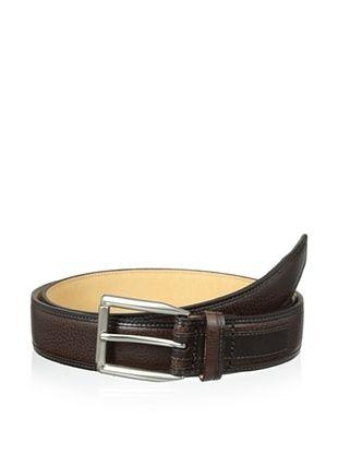 53% OFF Trafalgar Men's Wrapped Edge Belt (Brown)