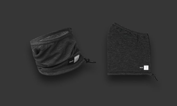 the black version of the kubi neck warmer by pedaled 2016