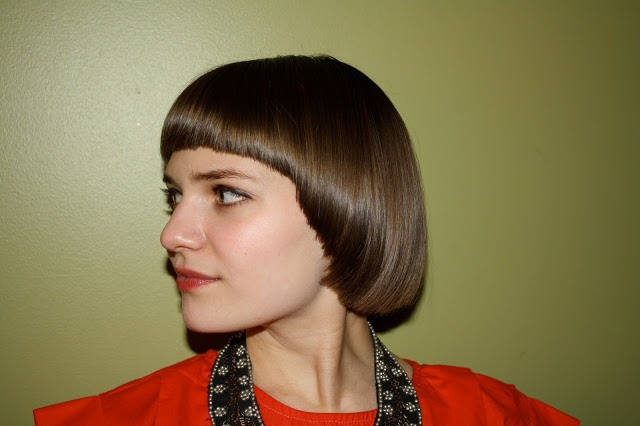 patti but with glasses. mousey brown hair color. 80s bowl cut - Google Search