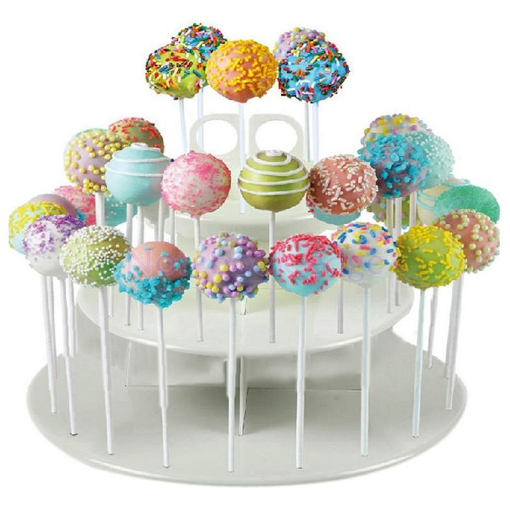 Cake Pop Cupcake Lollipop Stand - 3 Tiers