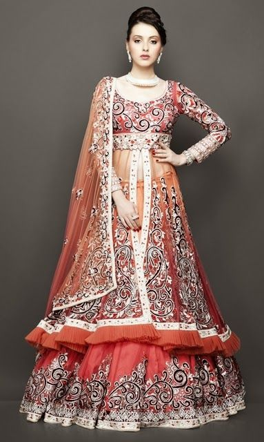 Indian Bridal Wear Trends 2014 | Indian Wedding Dresses