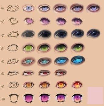 Augen Zeichnen-dekoking…
