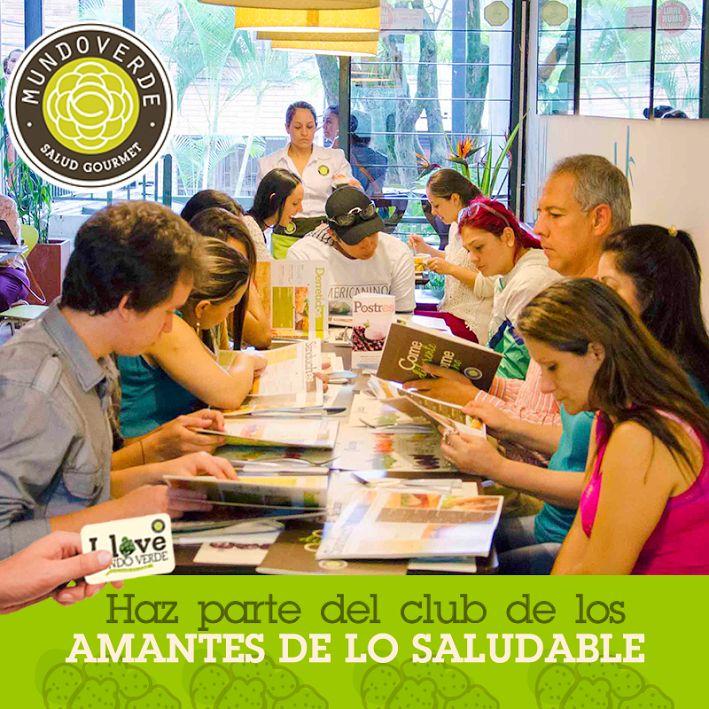 ¿Ya eres parte de nuestro #ClubDeAmigosSaludables? Que esperas para serlo y disfrutar todos los beneficios  #MundoVerde #Tarjeta #Restaurante