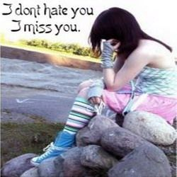 Miss you status for whatsapp Bbm i don't hate you