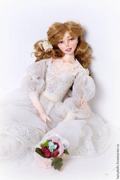 Коллекционные куклы ручной работы. Ярмарка Мастеров - ручная работа Балерина Аделина - Кукла подружка из сказки. Handmade.