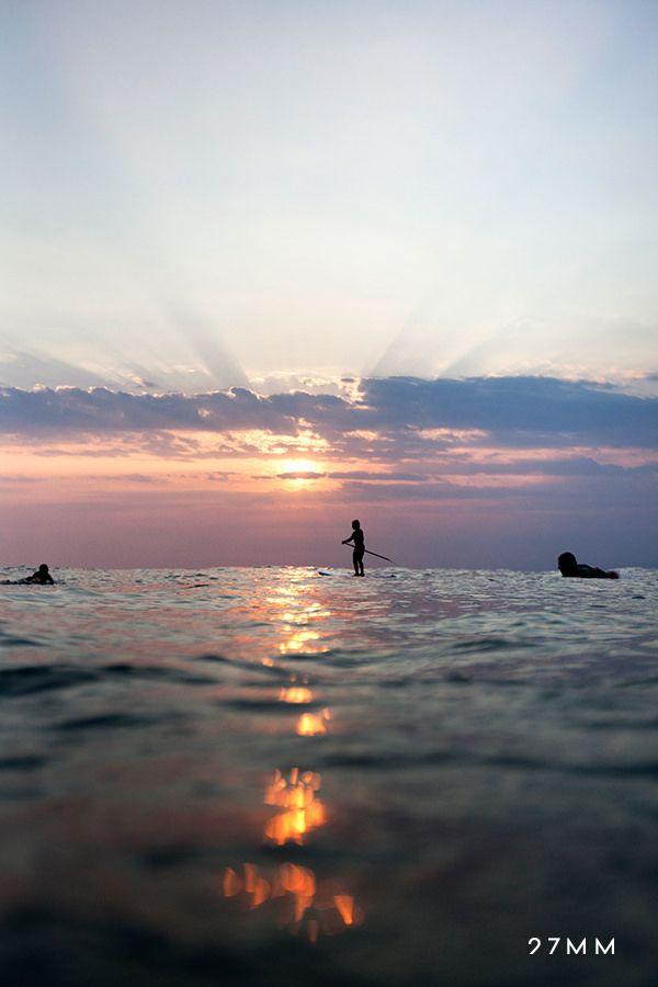 Sunset. Puerto Escondido, Mexico, Pacific Ocean. www.27MM.net