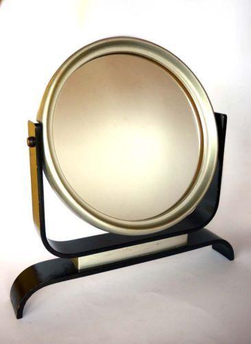 specchio da tavolo art deco psiche anni 30