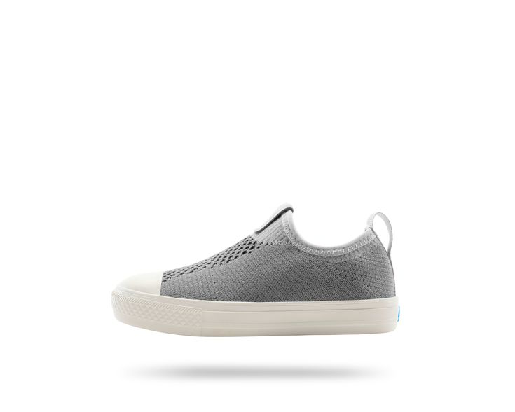 #ThePhillipsKnitKIDS in Moonrock Grey / Picket White. #PeopleFootwear
