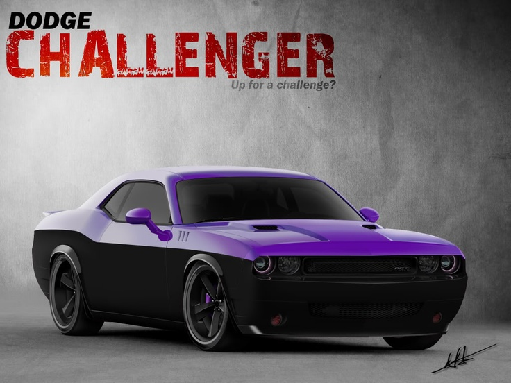 Challenger Purple- hyperventilating...