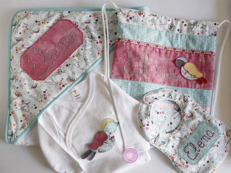 #canastilla #regalo #personalizado #bebe #baby #handmade #hechoamano #patchwork #telas #fabrics