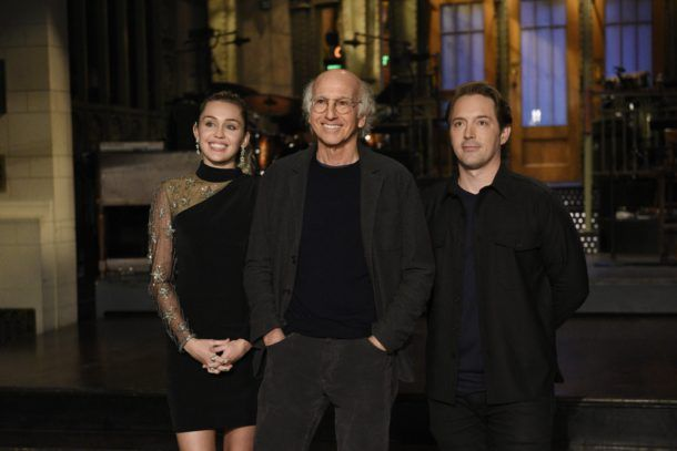 Don't miss Larry David host Saturday Night Live with musical guest Miley Cyrus tonight on NBC. #SNL #LarryDavid #MileyCyrus promo: http://lenalamoray.com/2017/11/04/larry-david-hosts-snl-with-musical-guest-miley-cyrus/