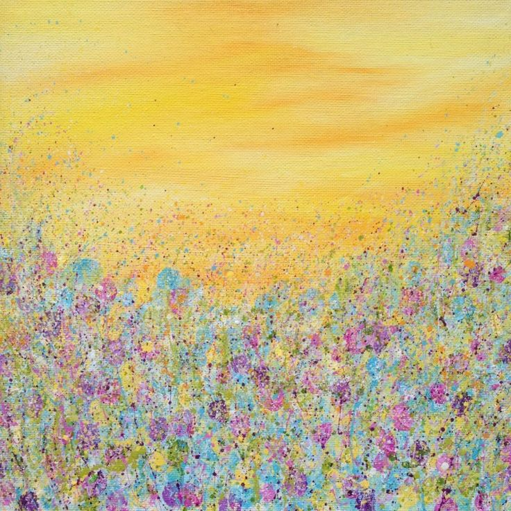 Summer Symphony (2016) Acrylic painting by Lucy Moore | Artfinder