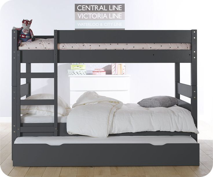 les 25 meilleures id es de la cat gorie doubles lits en hauteur sur pinterest lits superpos s. Black Bedroom Furniture Sets. Home Design Ideas