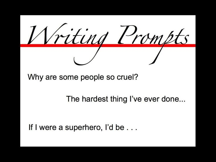 Creative Writing Prompts for Kids and Teenagers: Resources for Elemen ...