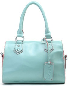 Glamour Green 30*17*24cm PU Womens Tote  US$13.99