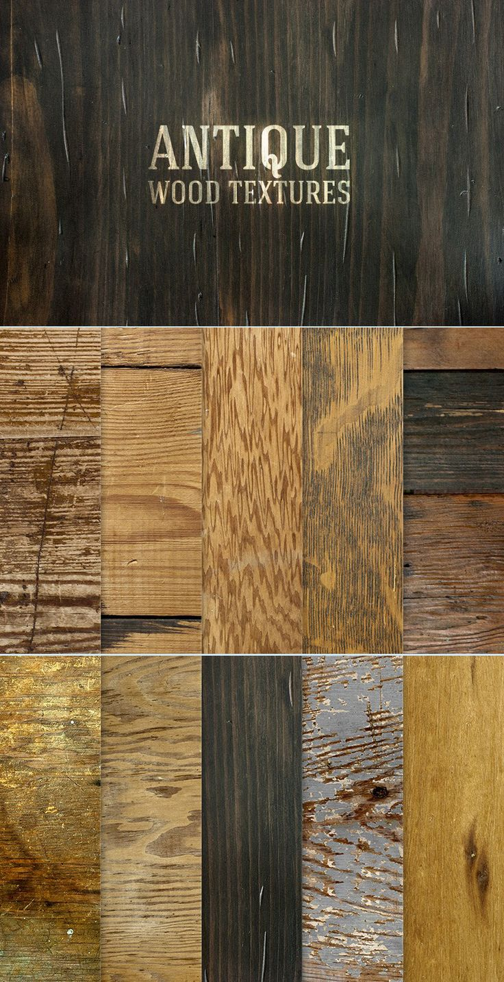 Nothing adds a feeling of rustic outdoors like a nice worn wood texture. This set from @medialoot features 10 unique antique wood images. Use these as backgrounds to display logos or lettering illustrations.