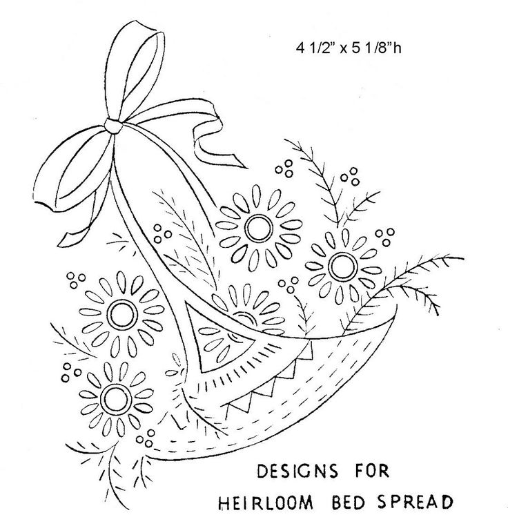 How To Draw A Beautiful Flower Basket : Best images about embroidery on hand