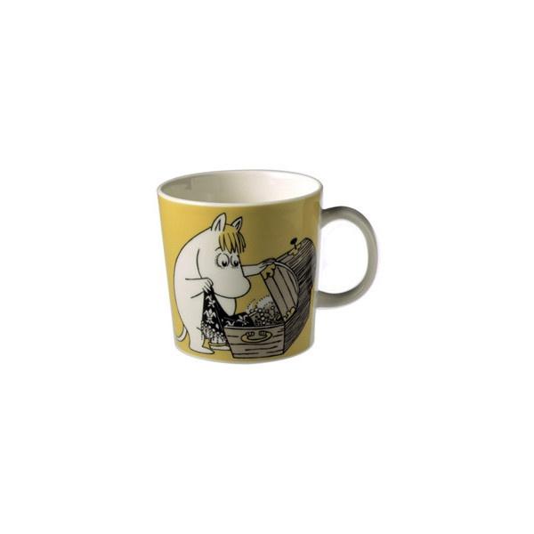 Arabia - Muumi muki Niiskuneiti, keltainen - Tove Slotte-Elevant ($22) ❤ liked on Polyvore