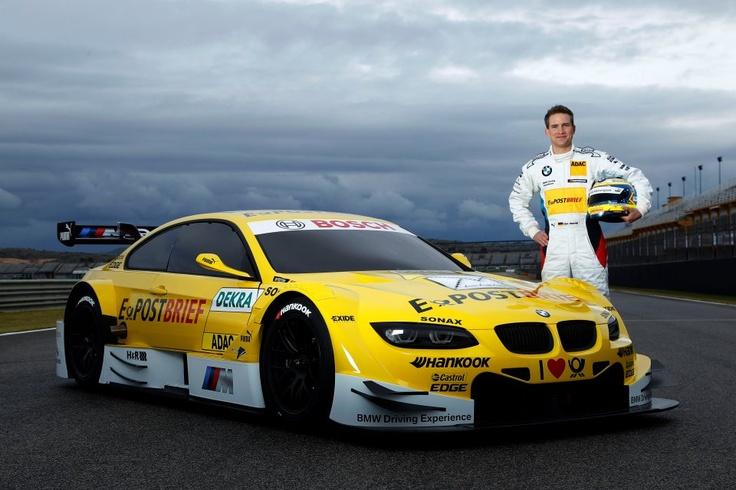 Yellow DTM BMW