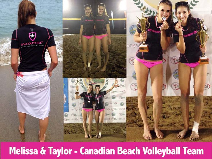 UVC ATHLETES | UV Couture Melissa & Taylor  - Canadian Beach Volleyball Team