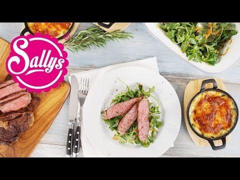 Sallys Blog - Rib Eye Steak mit Kartoffelgratin / Sous Vide Garen / Rückwärtsgaren / Vakuumgaren