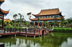 Temple Changsha in Hunan Province, China