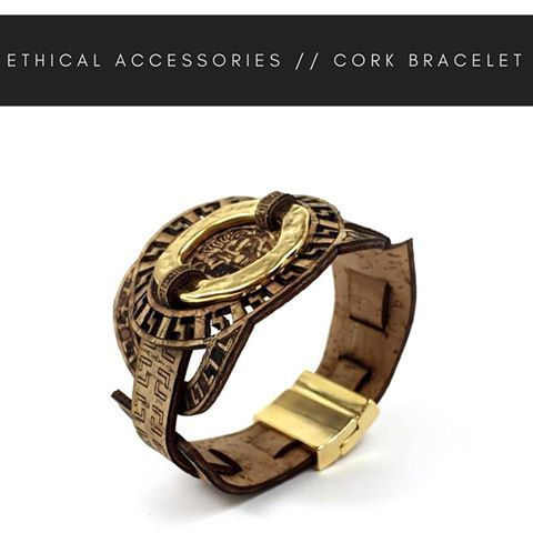 Check out our new arrivals. Beautiful bracelet made from Cork. • Classy • High quality • Sustainable fashion Your Vegan choice! Material: #corkfabric • Only at •
