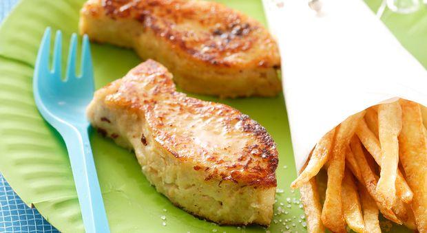 Croq' poisson Plutôt que d'acheter du surgelé, faites vous-même vos poissons panés, les enfants vont adorer!