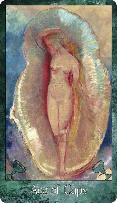 Ace of Cups ~ Odilon Redon