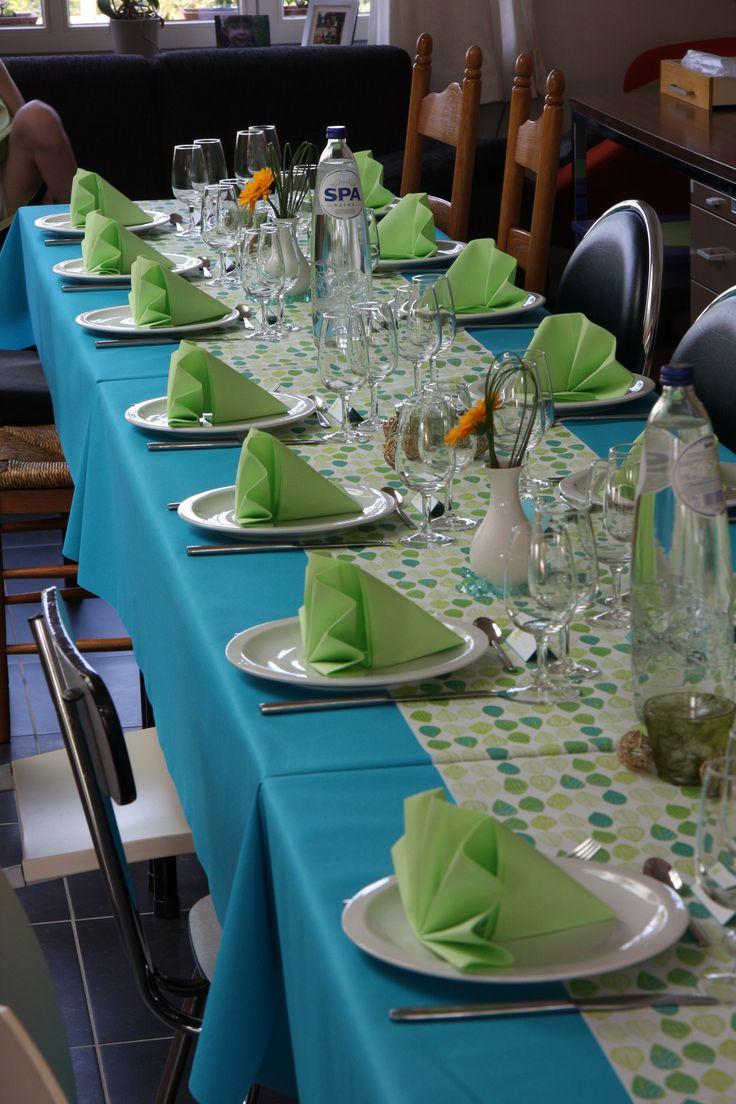 Communie maar dan met een wit tafellaken