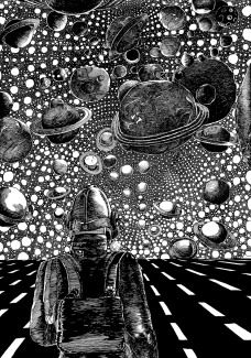 Pushwagner - Cosmos (monokrom)