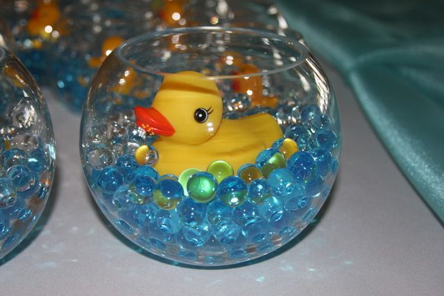 Rubber Ducks / Baby Shower/ Centerpieces