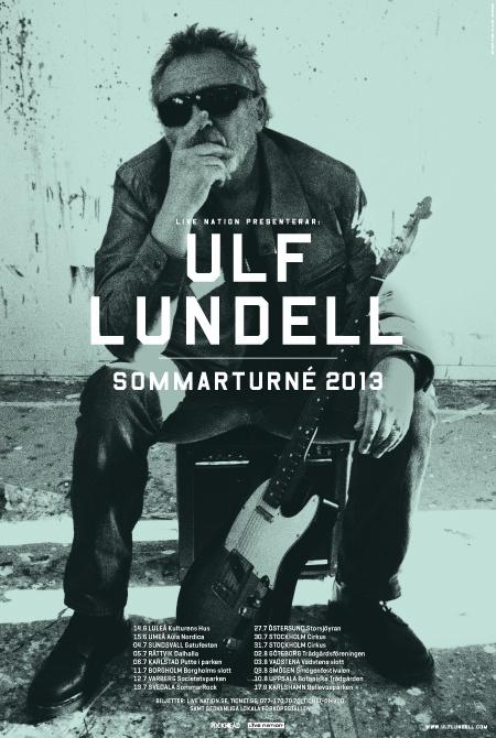 ULF LUNDELL | Sommarturné 2013 |