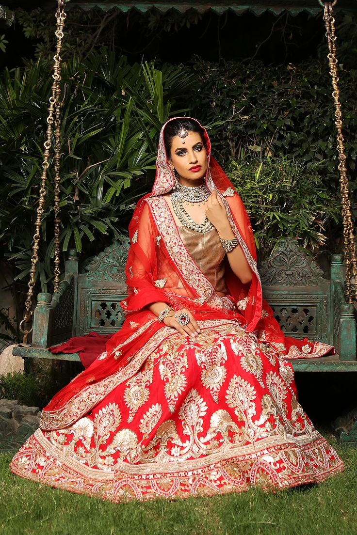 Check out more designer lehengas now to look your best like never before on your Big Day!!