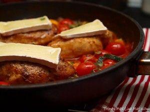 Kylling med brie og spicy tomatsaus - TRINEs MATBLOGG