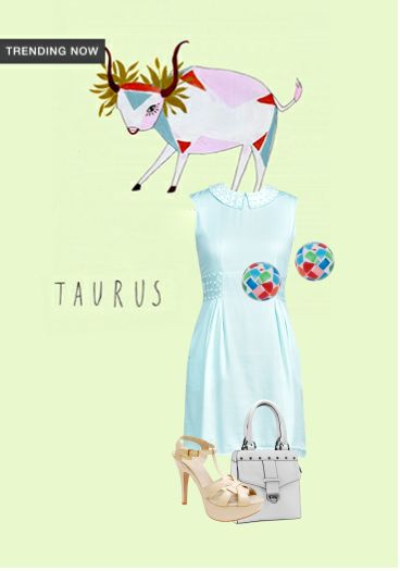 'Taurus' by me on Limeroad featuring Green Dresses, White Handbags with Nude Sandals