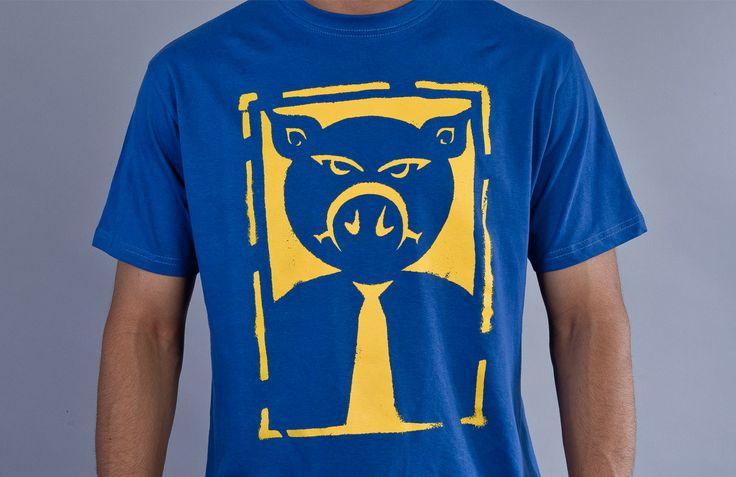 """""""Stencil"""" T-Shirt"""