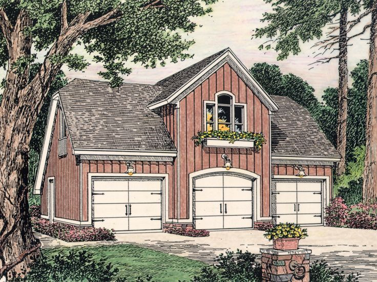 Detached Garage Plans With Apartment: 17 Best Detached Garage Plans With Apartment Above Images
