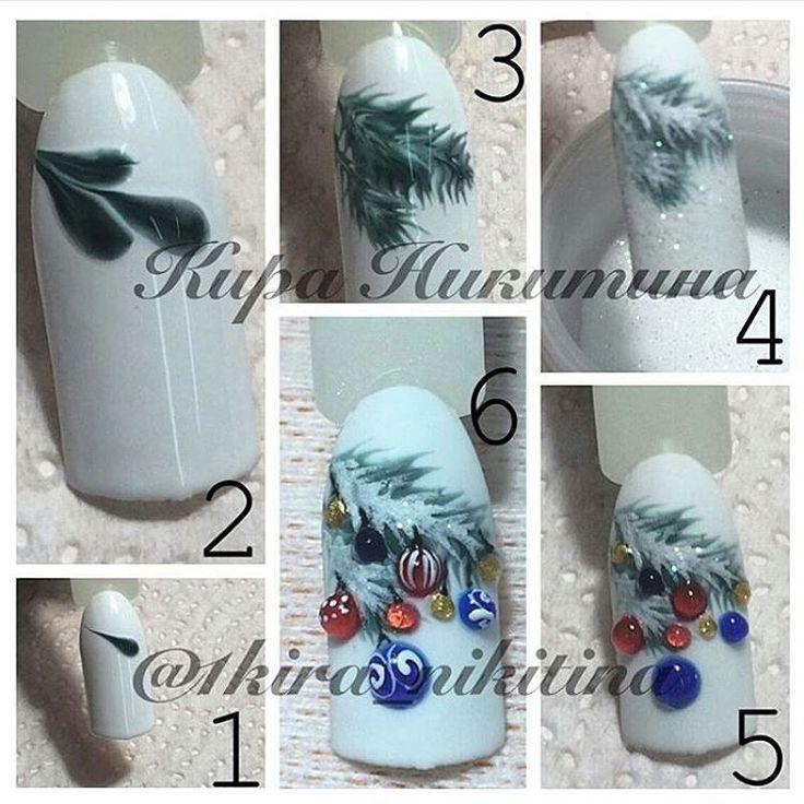 Nails tutorial Luxury Beauty - winter nails - http://amzn.to/2lfafj4